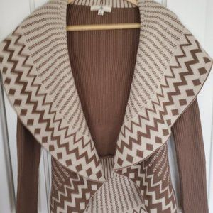 Geometric Shrug Sweater